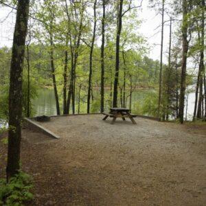Hickory Knob State Resort Park Campsite