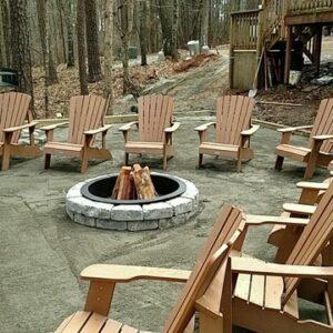 Hickory Knob outdoor living space barracks
