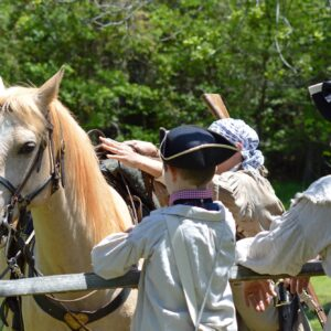 The Battle of Musgrove Mill Reenactment