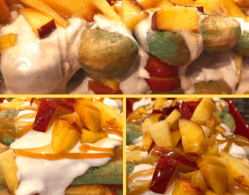 peach marscarpone ladyfingers