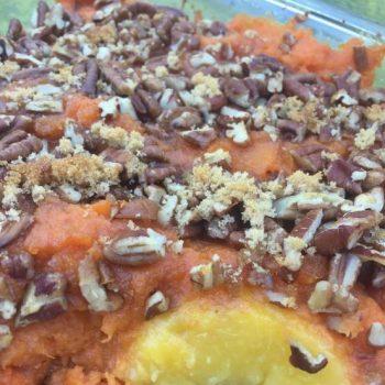 peachy sweet potatoes