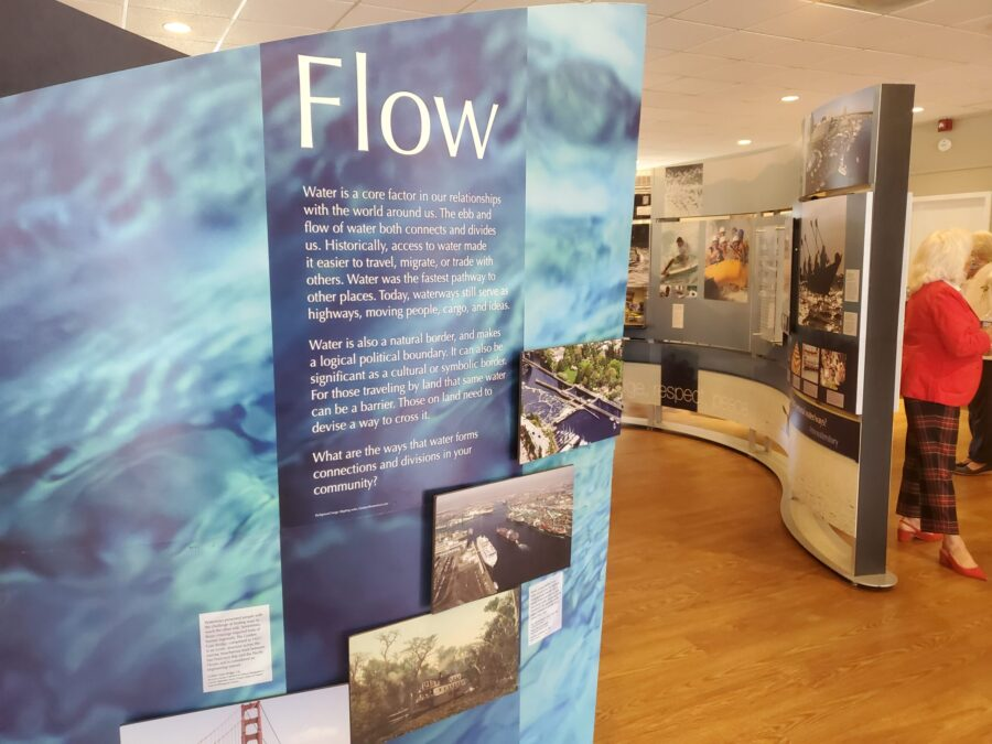 Pictures of the Smithsonian Water/Ways Exhibit