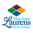 Laurens Main Street South Carolina logo