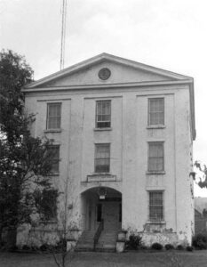 The Old Jail in Abbeville County, historic and reportedly haunted