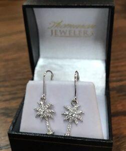 Thomason Jewelers Palmetto Tree earrings